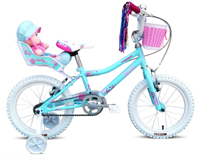 Kids Bikes - Rosie 16 inch Wheel